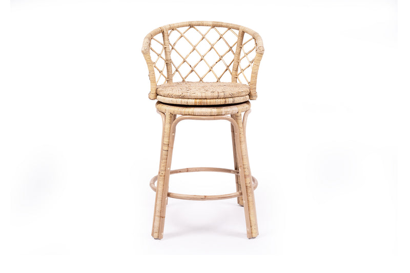 Coastal Swivel Stool - Natural