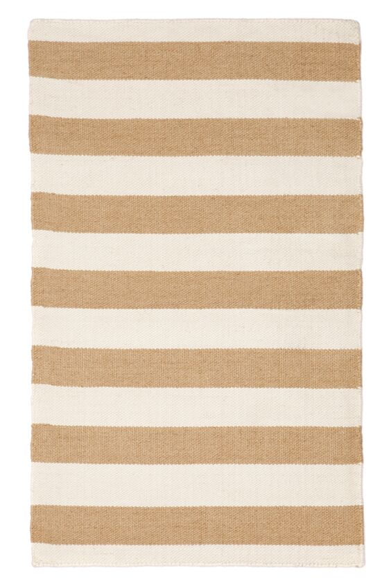 East Coast Sand Striped Outdoor / Indoor rug