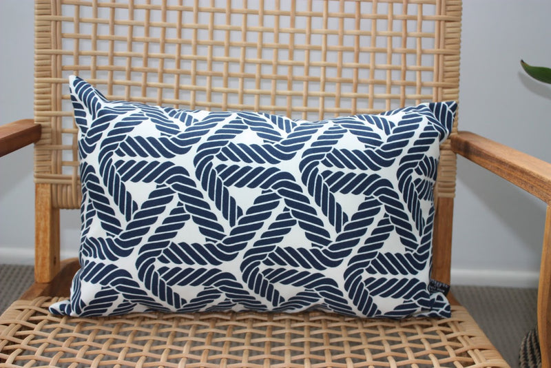 Navy Topsail Outdoor/Indoor Cushion cover
