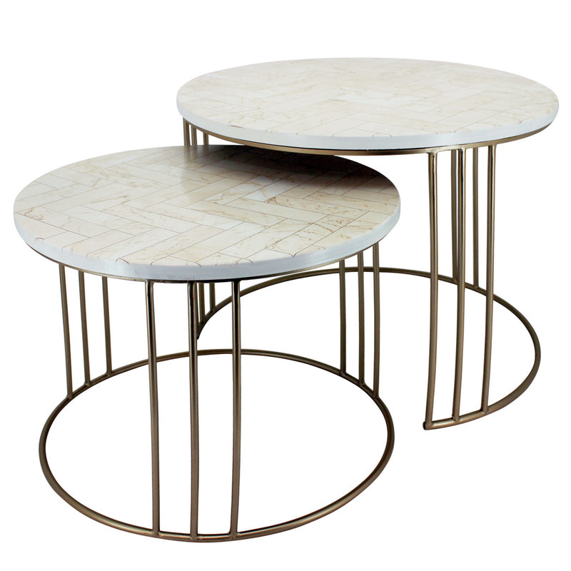 Rodez Coffee Table Pair