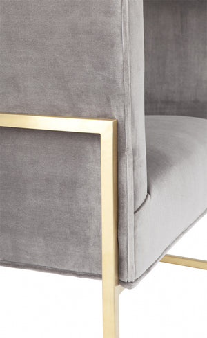 Ritz Armchair grey