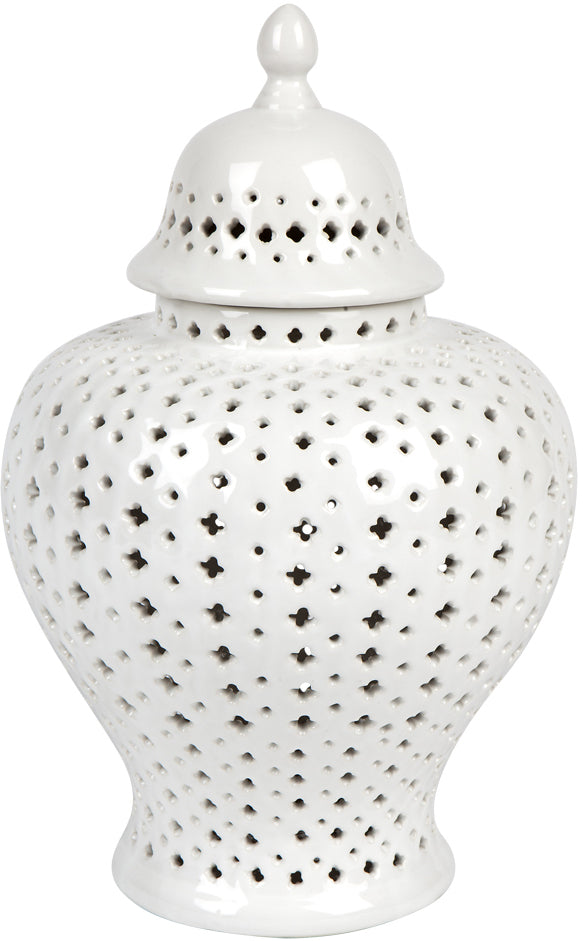 Hamptons Ginger Jar White Range