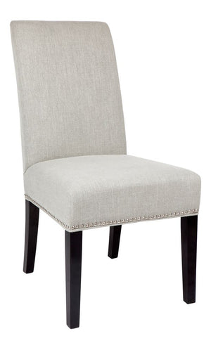 Regency Grey dining chair