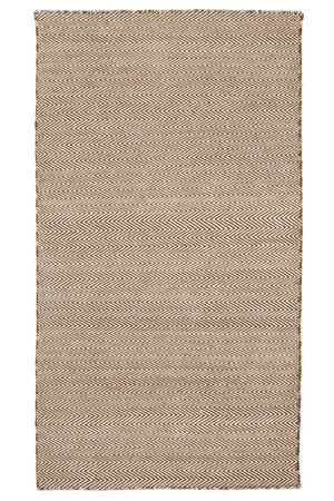 Classic Chevron Sand Outdoor / Indoor rug