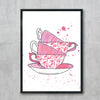 Tea For Two Pink Teacups 2