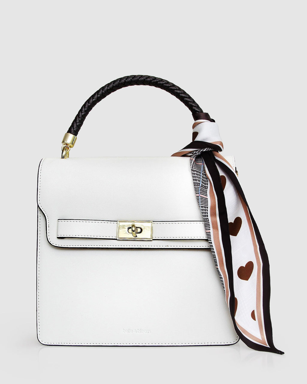 Over You Leather Cross-Body Bag - White