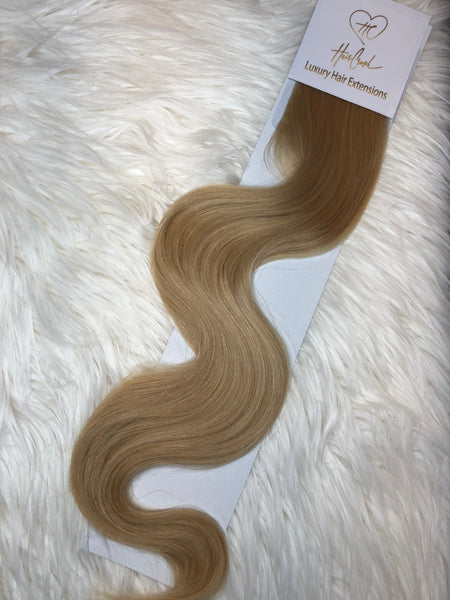 Blonde (Color 22) Tape-In Extensions - 21""
