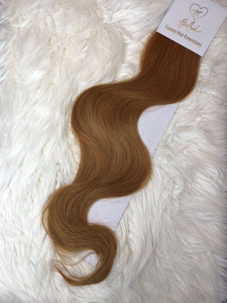 Medium Blonde (Color 27) Tape-In Extensions - 21""