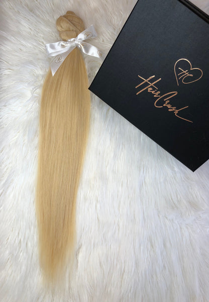"Blonde Straight Bundle - 28"" Extensions"