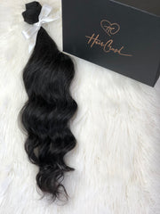 "Black Body Wave Bundle - 20"" Extensions"