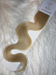 Icy Blonde (Color 60) Tape-In Extensions - 21""