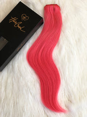 Clip-in Extension #Pink - 20""