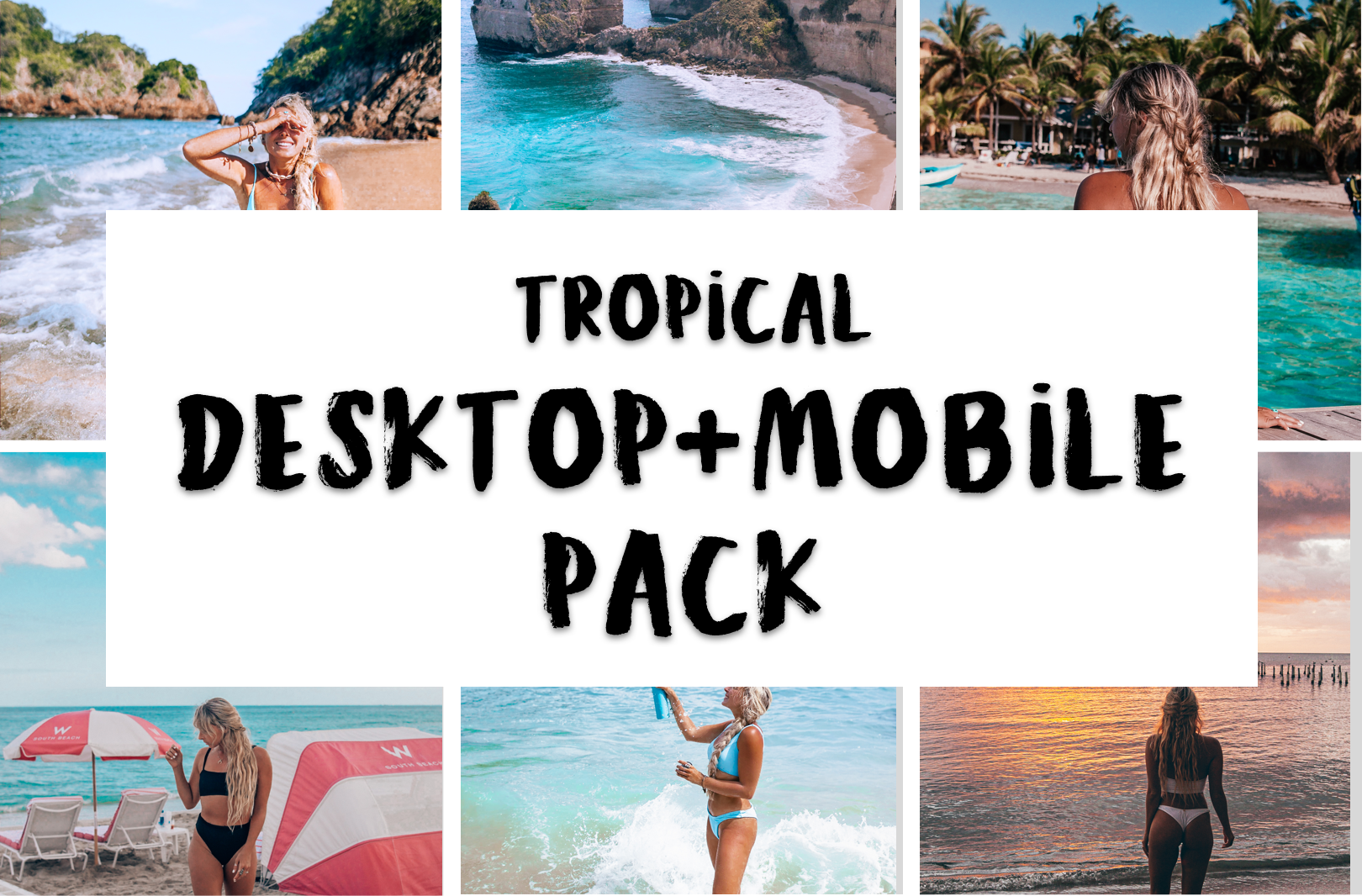 Tropical DESKTOP Pack: RAW photos