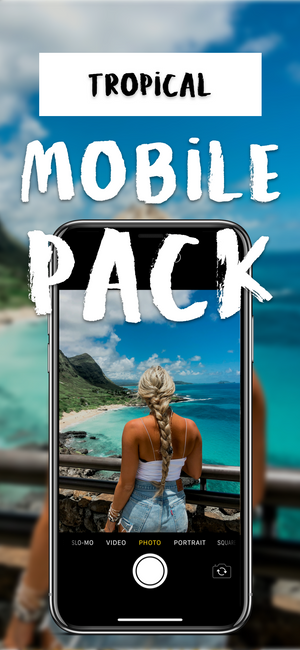 Tropical MOBILE Pack