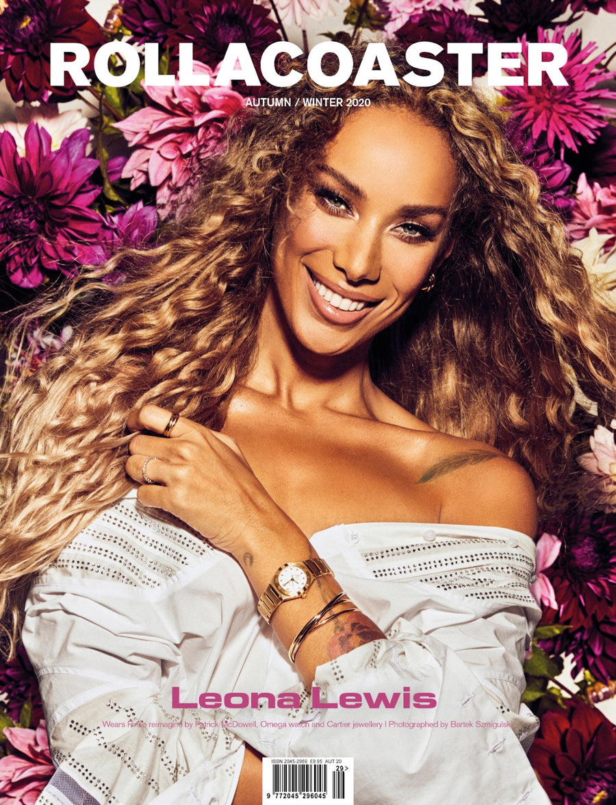 LEONA LEWIS Covers Rollacoaster Magazine Autumn/ Winter 2020