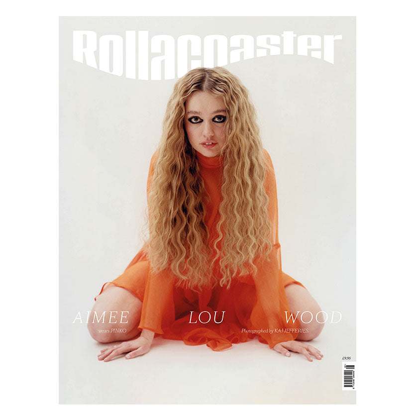 AIMEE LOU WOOD Covers Rollacoaster Magazine Spring/Summer 2020