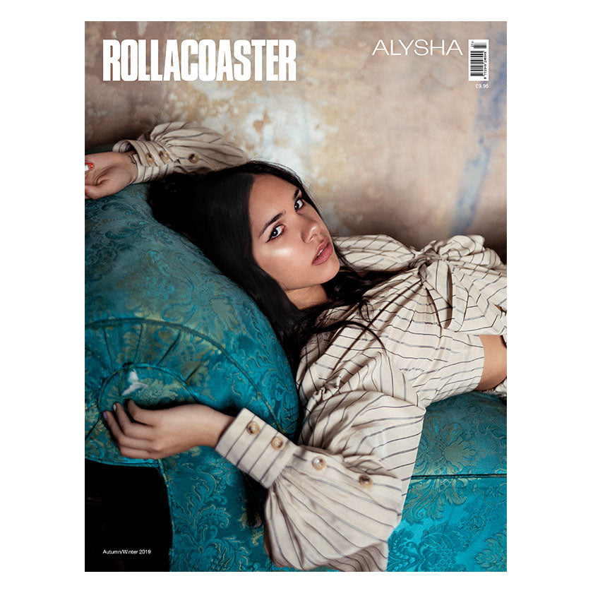 ALYSHA Covers Rollacoaster Magazine Autumn 2019