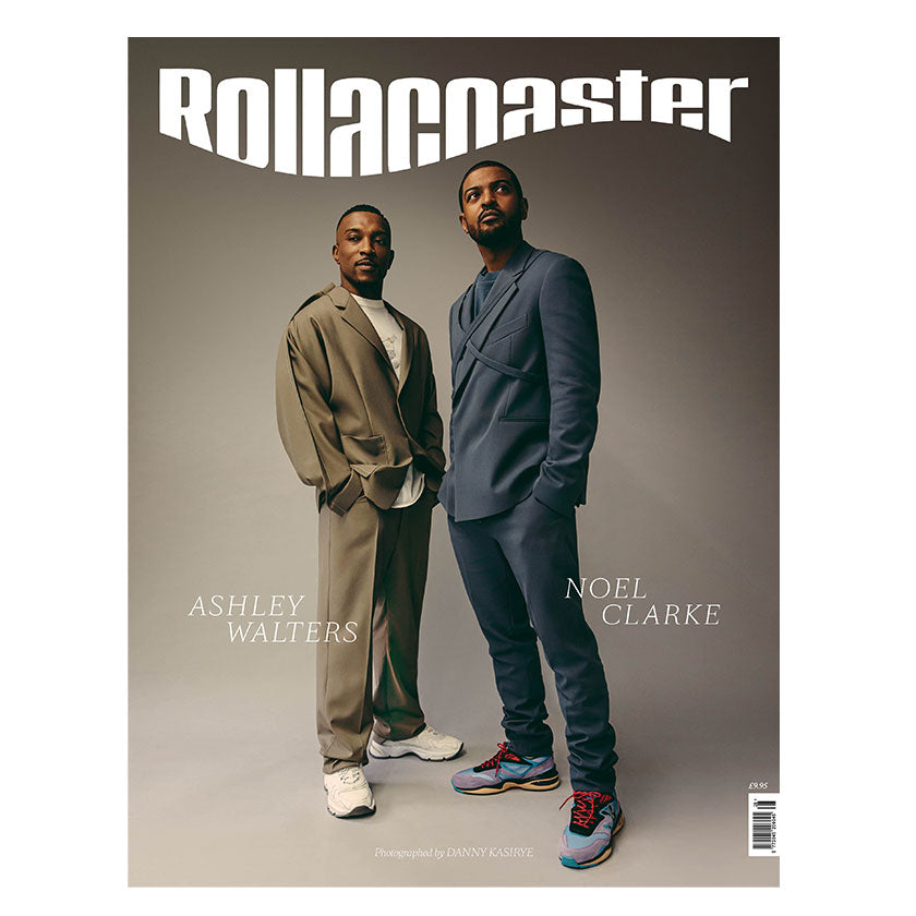 PRE-ORDER>>>  ASHLEY WALTERS & NOEL CLARKE Covers Rollacoaster Magazine Spring/Summer 2020