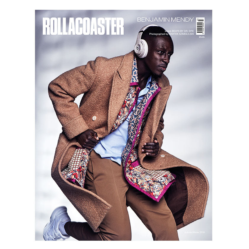 BENJAMIN MENDY Covers Rollacoaster Magazine Autumn 2019