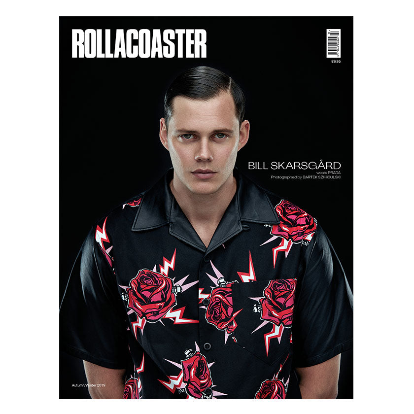 BILL SKARSGARD Covers Rollacoaster Magazine Autumn 2019