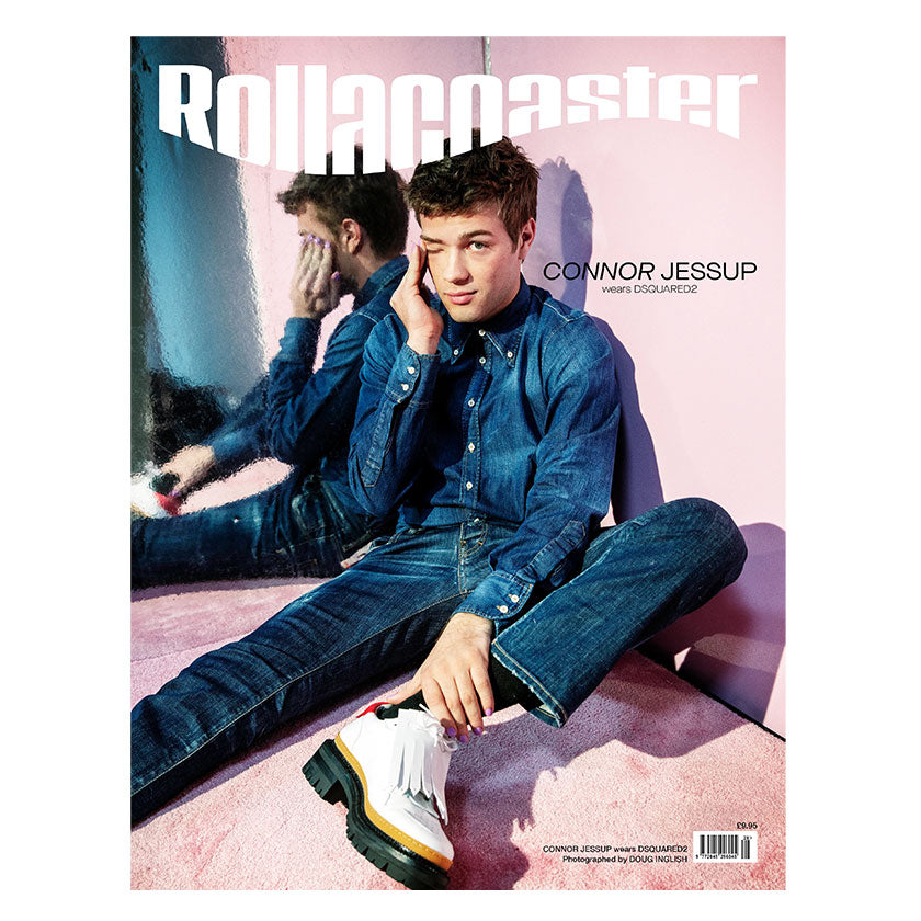 PRE-ORDER>>> CONNOR JESSUP Covers Rollacoaster Magazine Spring/Summer 2020