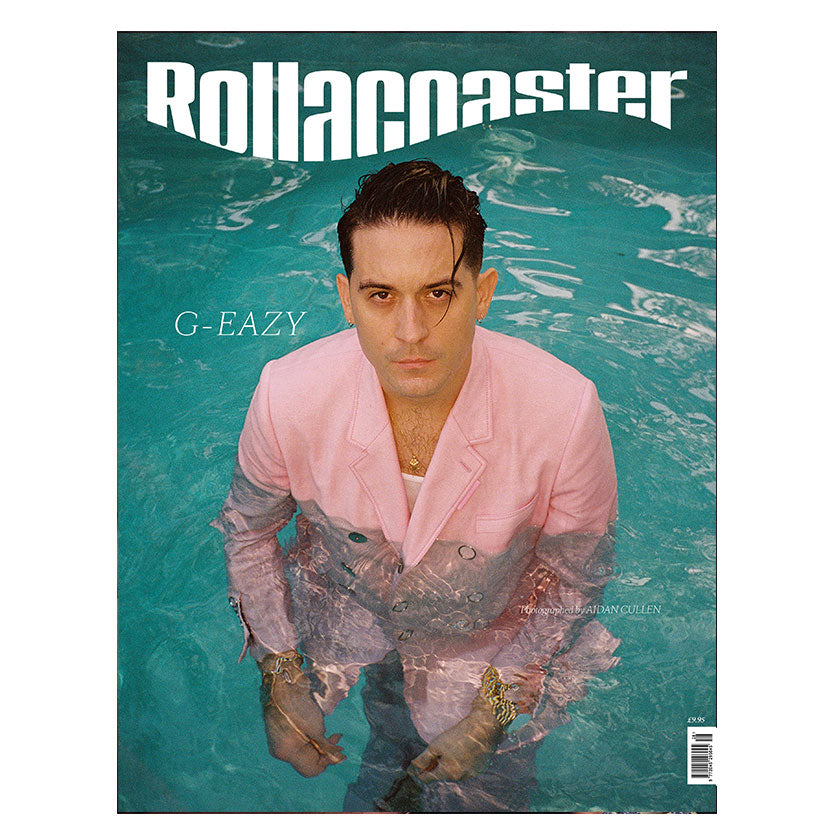 G-EAZY Covers Rollacoaster Magazine Spring/Summer 2020
