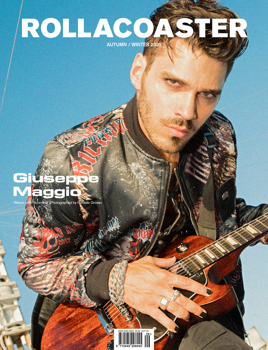 Giuseppe Maggio Covers Rollacoaster Magazine Autumn/ Winter 2020