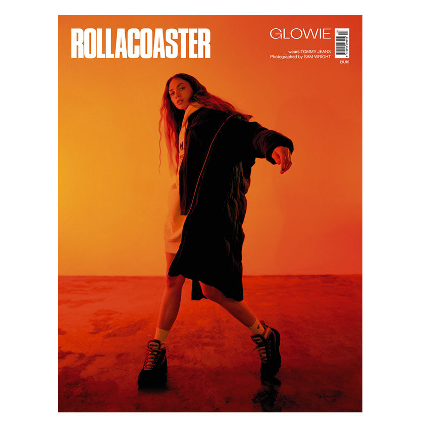 GLOWIE Covers Rollacoaster Magazine Autumn 2019