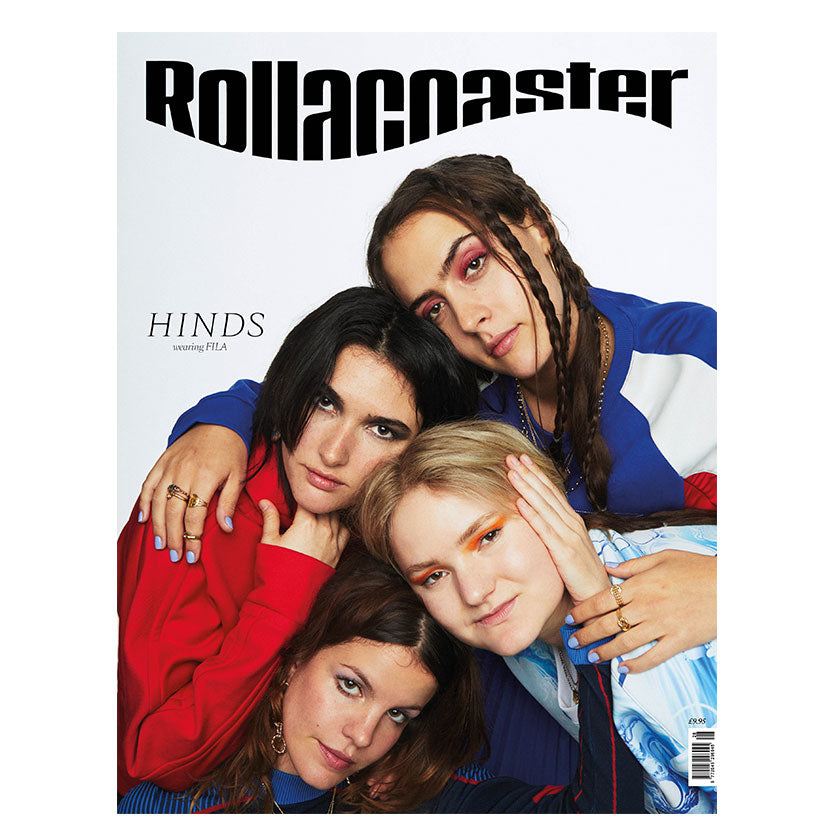 HINDS Cover Rollacoaster Magazine Spring/Summer 2020