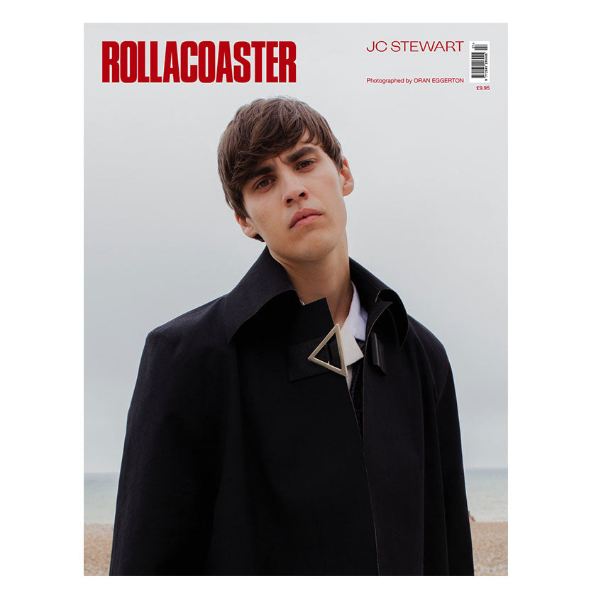 JC STEWART Covers Rollacoaster Magazine Autumn 2019