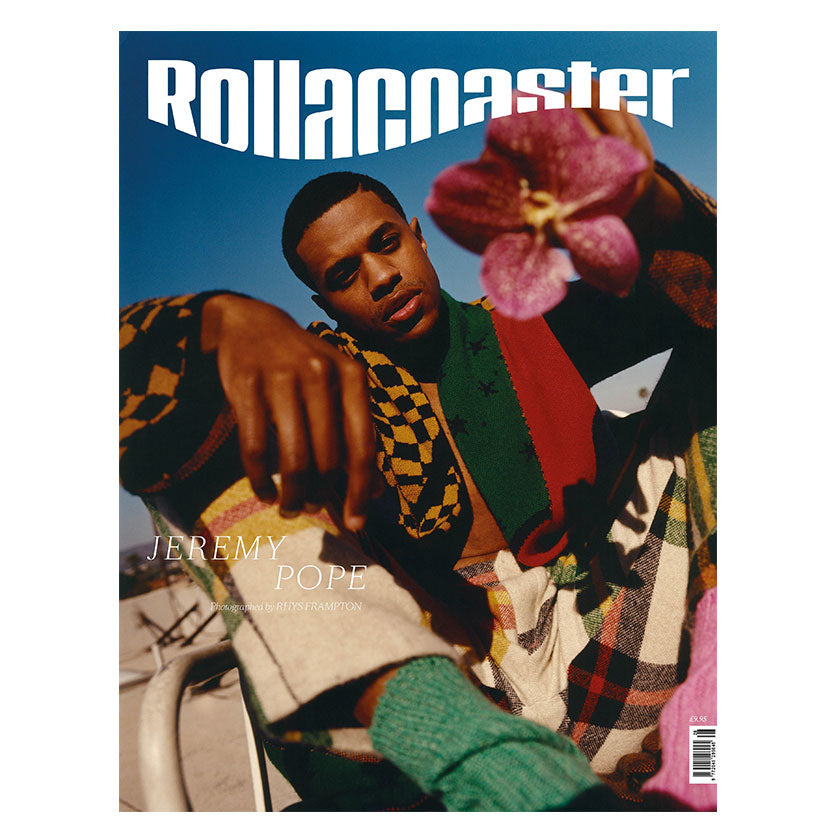 JEREMY POPE Covers Rollacoaster Magazine Spring/Summer 2020