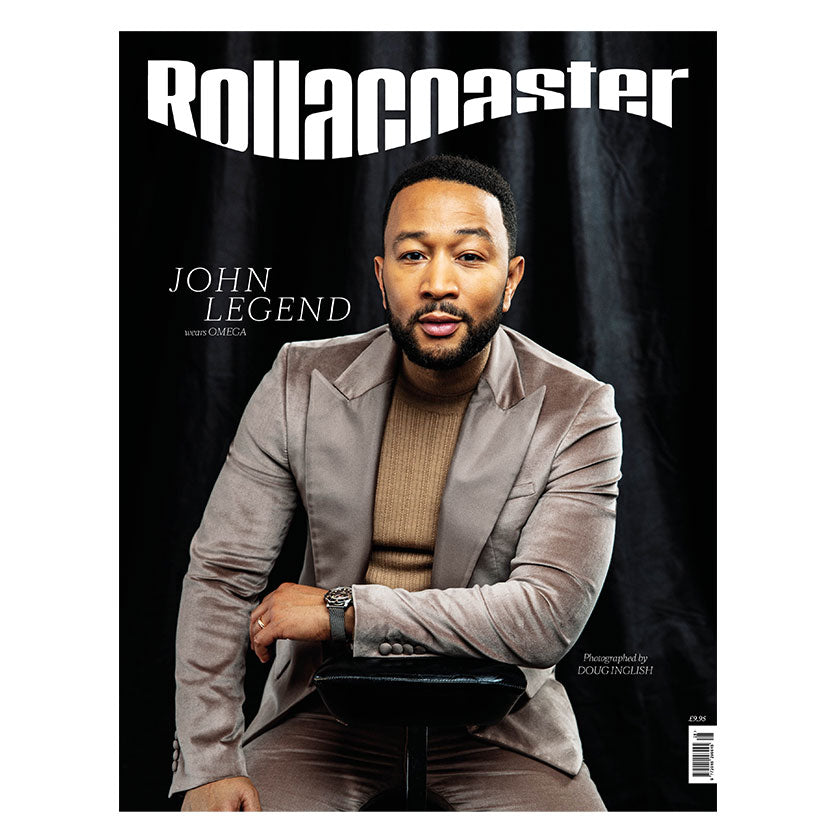 JOHN LEGEND Covers Rollacoaster Magazine Spring/Summer 2020