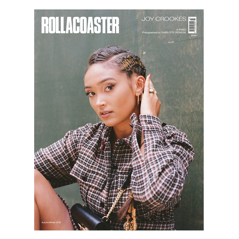 JOY CROOKES Covers Rollacoaster Magazine Autumn 2019
