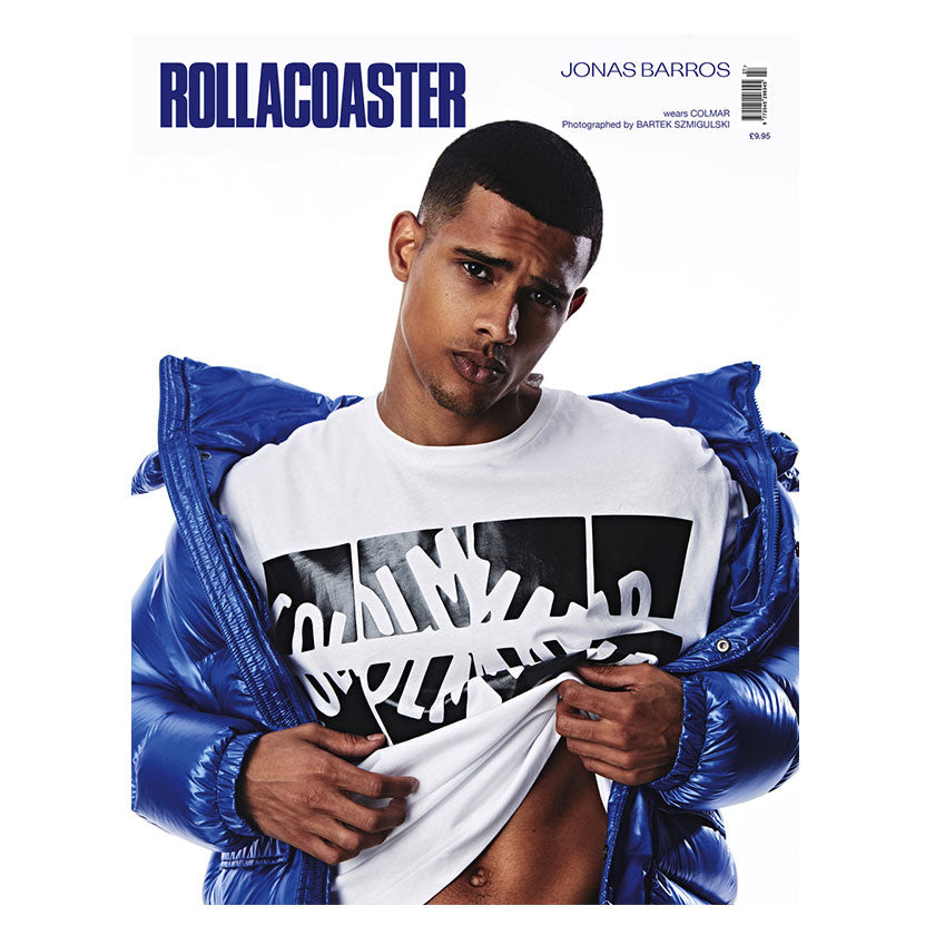 JONAS BARROS Covers Rollacoaster Magazine Autumn 2019