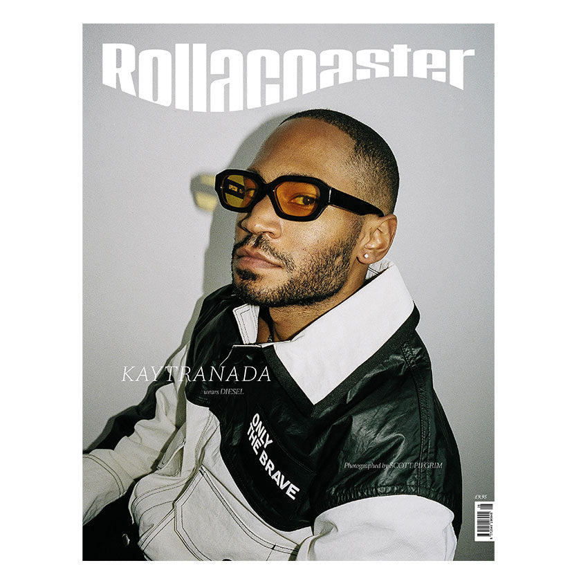 KAYTRANADA Covers Rollacoaster Magazine Spring/Summer 2020
