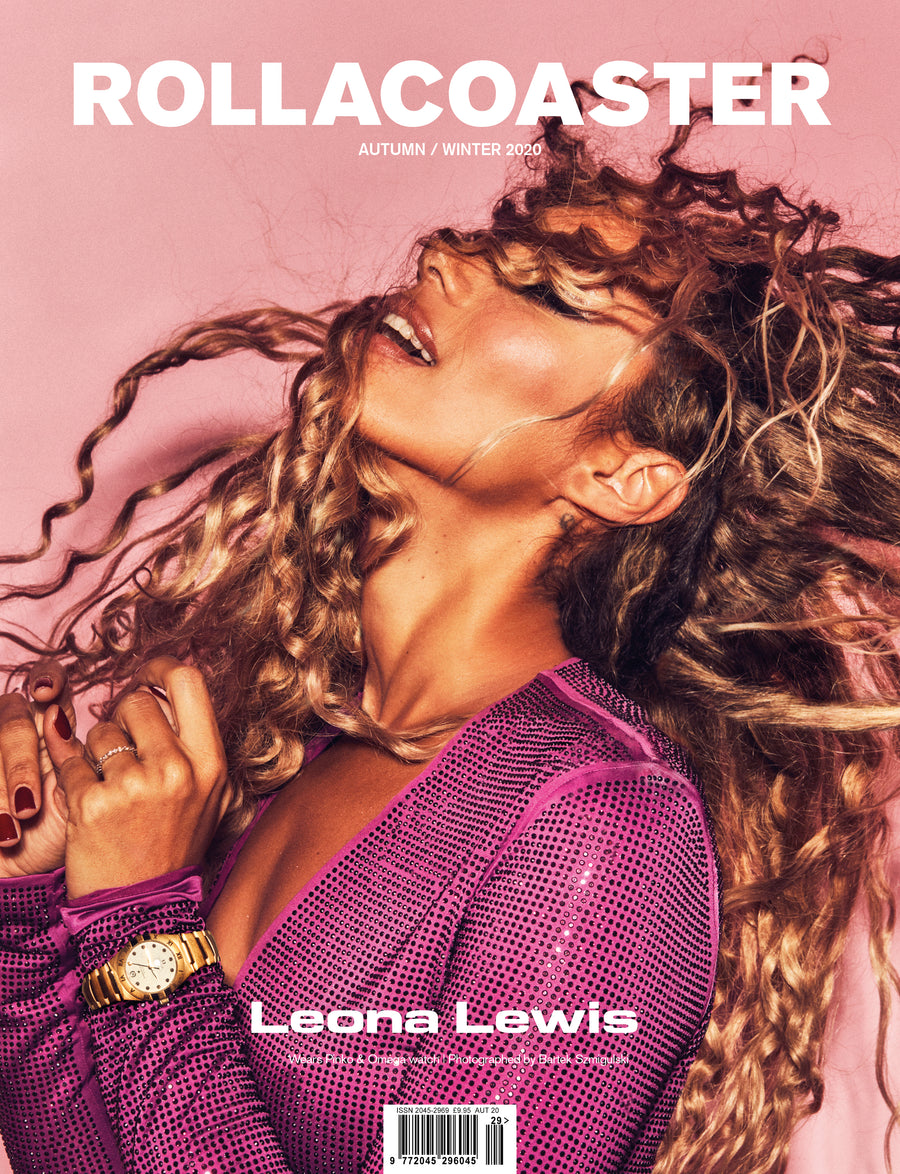 LEONA LEWIS Second Cover Rollacoaster Magazine Autumn/ Winter 2020