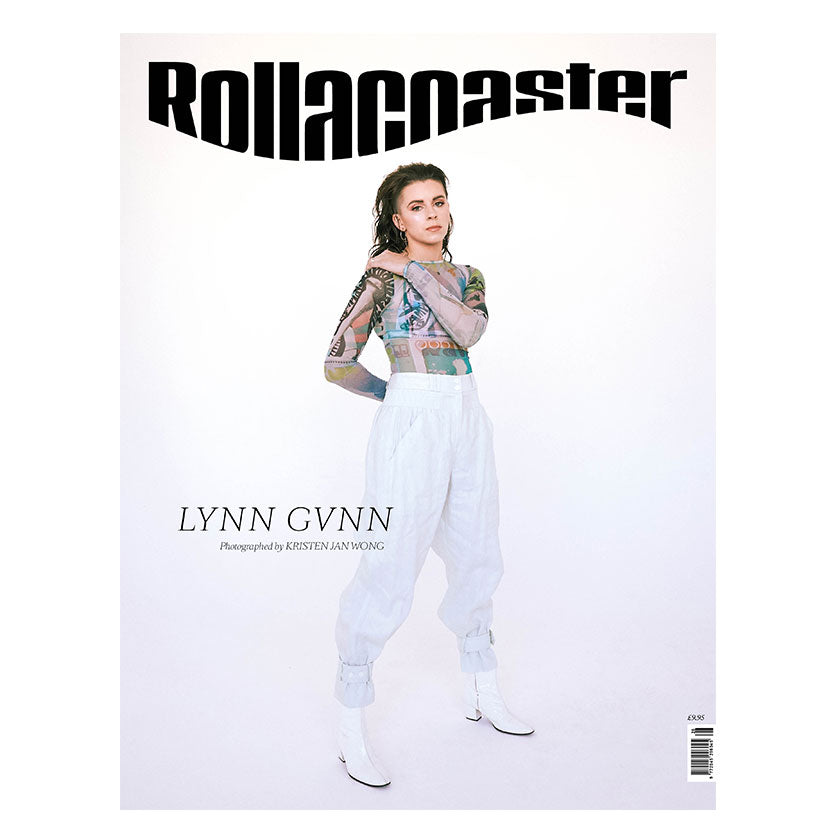 LYNN GUNN Covers Rollacoaster Magazine Spring/Summer 2020