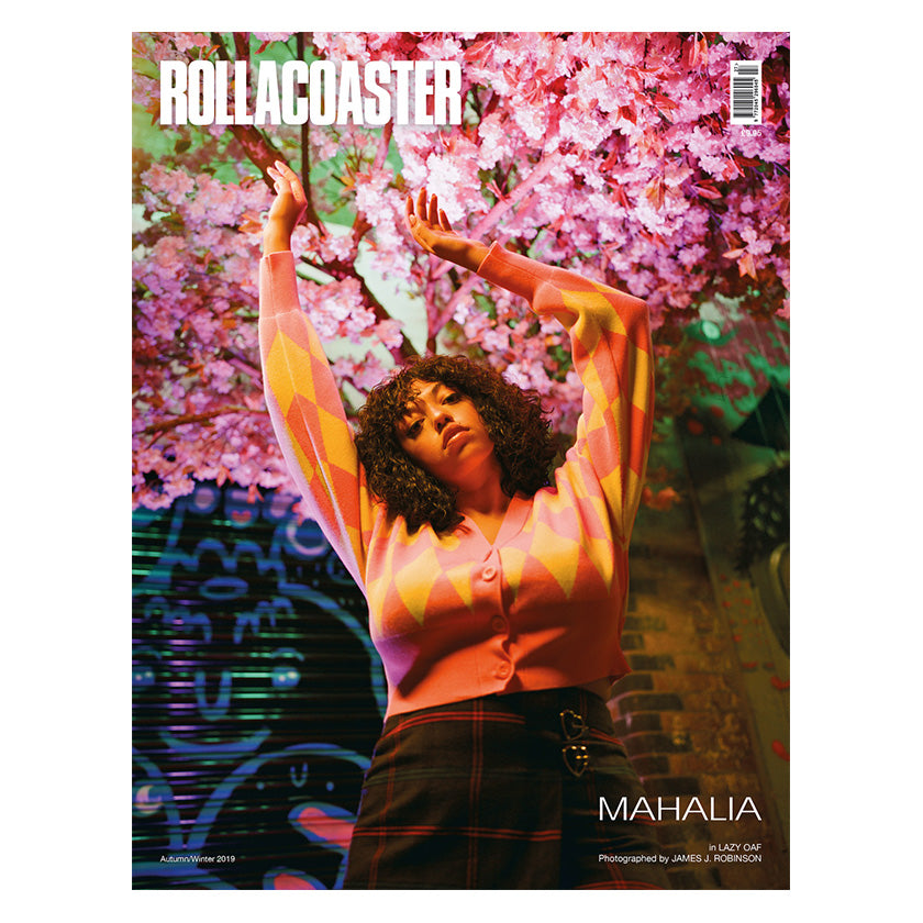 PRE-ORDER >>> MAHALIA Covers Rollacoaster Magazine Autumn 2019