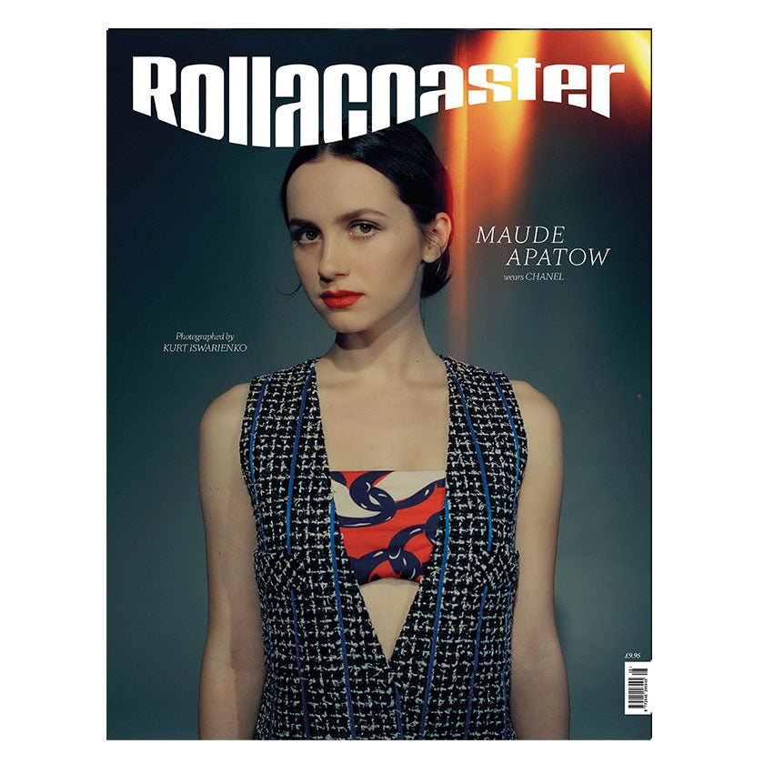 PRE-ORDER>>> MAUDE APATOW Covers Rollacoaster Magazine Spring/Summer 2020