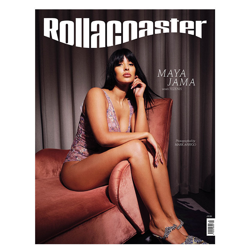 PRE-ORDER>>> MAYA JAMA Cover Rollacoaster Magazine Spring/Summer 2020
