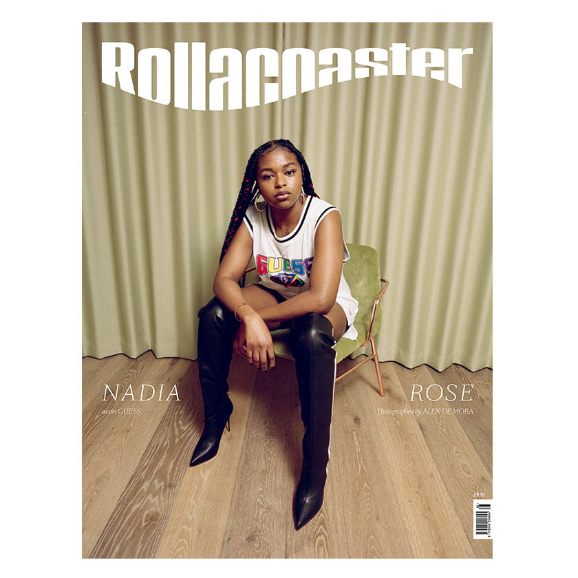 NADIA ROSE Covers Rollacoaster Magazine Spring/Summer 2020