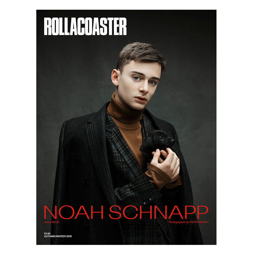 NOAH SCHNAPP Covers Rollacoaster Magazine Autumn 2019