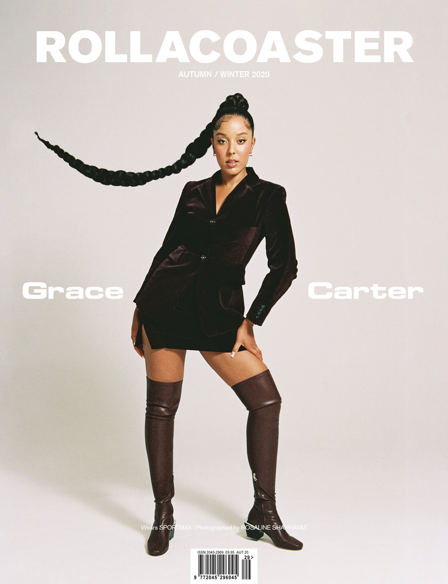 PRE-ORDER>> Grace Carter Covers Rollacoaster Magazine Autumn/ Winter 2020