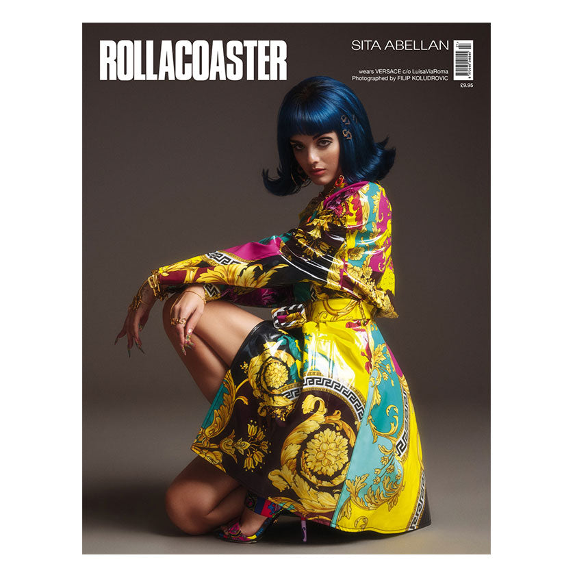 SITA ABELLAN Covers Rollacoaster Magazine Autumn 2019