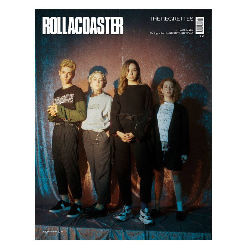 THE REGRETTES Covers Rollacoaster Magazine Autumn 2019