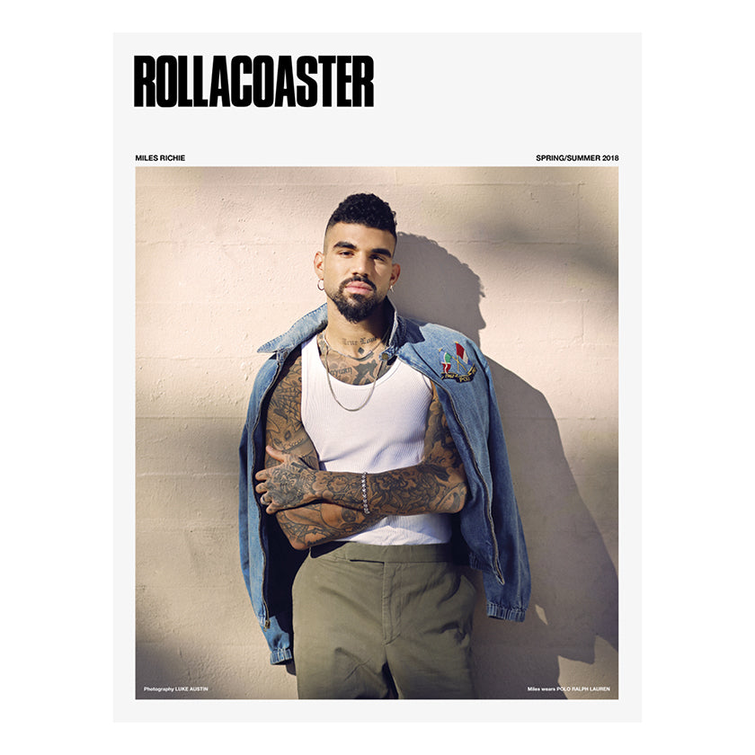 MILES RICHIE - SS18 Rollacoaster Magazine