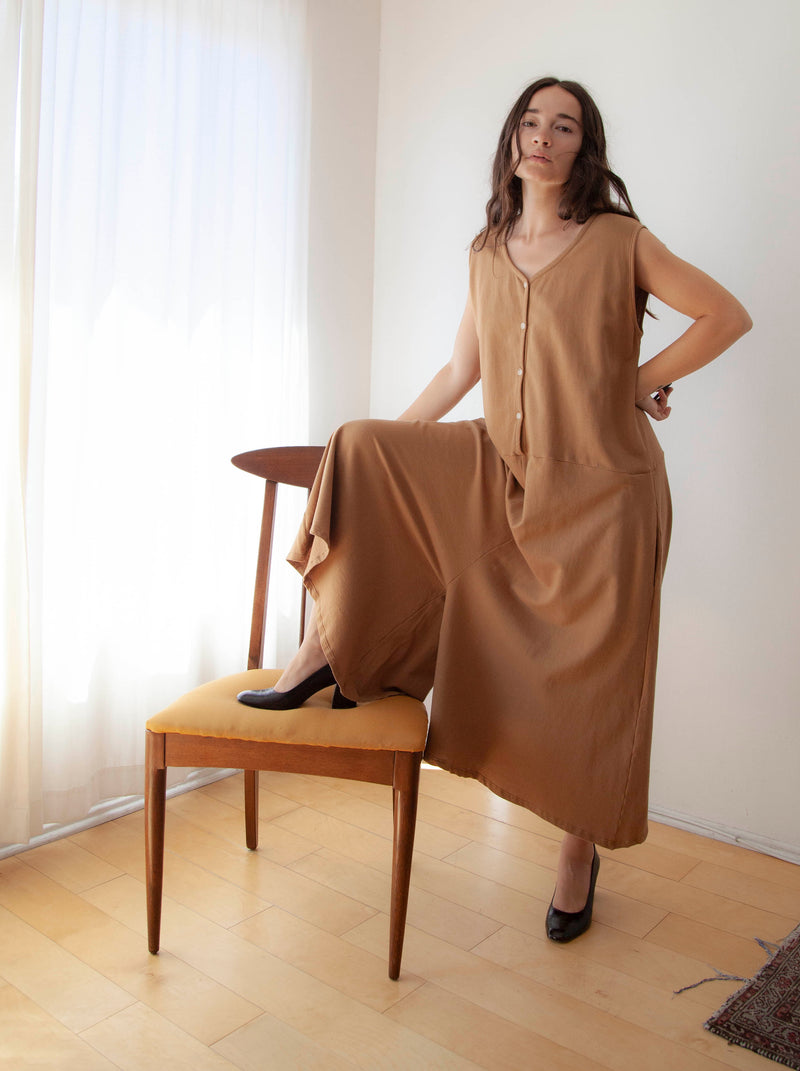 Freya Jumpsuit / Clay