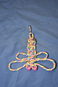550 Cord Dragon Fly Key Chains with Glow in the Dark Eyes