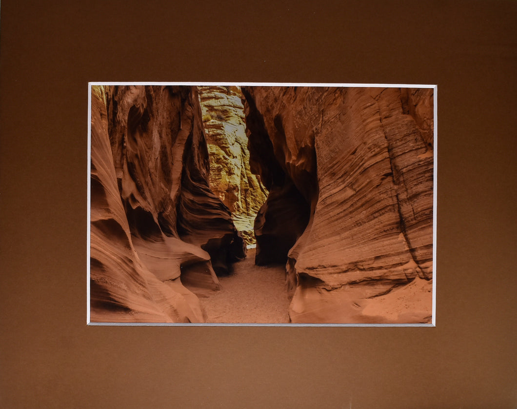 Desert Canyon Landscape Fine Art Photography 8x10 Matted Print