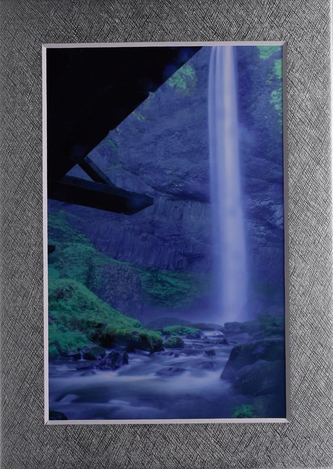 Oregon Waterfall River Landscape Fine Art Photography 5x7 Matted Print